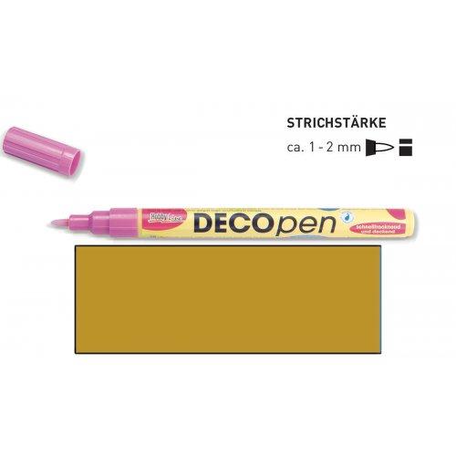 Fix dekorační DECOpen 1 - 2 mm zlatý