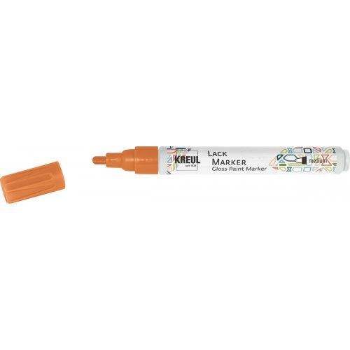 Lakový popisovač KREUL medium 2 - 4 mm oranžový