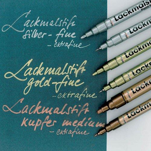 Lakový popisovač KREUL fine 1 - 2 mm měděný - 472_Lackmalstift_Keja-Bohne_GStark.jpg