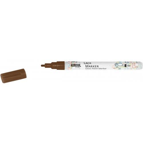 Lakový popisovač KREUL fine 1 - 2 mm měděný