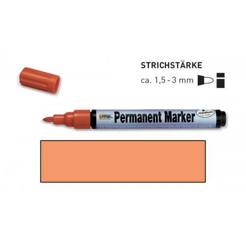Permanentní popisovač KREUL medium 1,5 - 3 mm oranžový