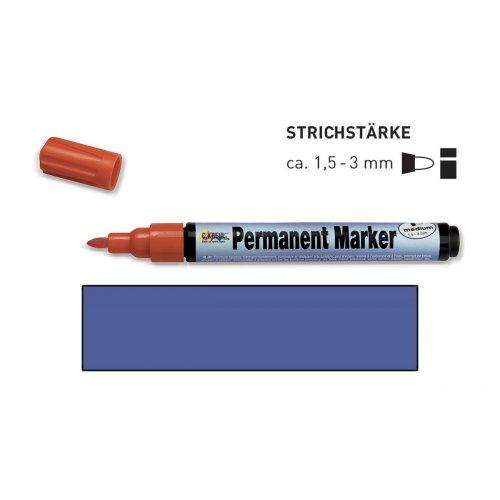 Permanentní popisovač KREUL medium 1,5 - 3 mm modrý