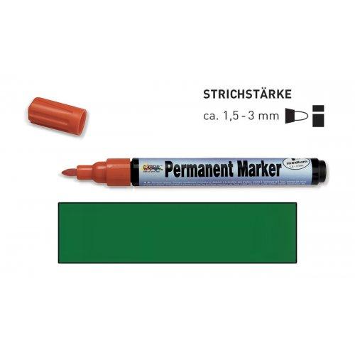 Permanentní popisovač KREUL medium 1,5 - 3 mm zelený