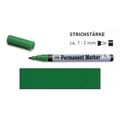 Permanentní popisovač KREUL jemný 1 - 2 mm zelený
