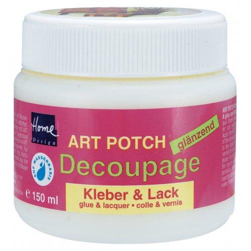 ART POTCH Decoupage Lepidlo a lak lesklý 150 ml