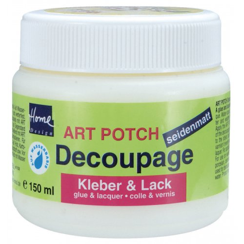 ART POTCH Decoupage Lepidlo a lak sametový 150 ml