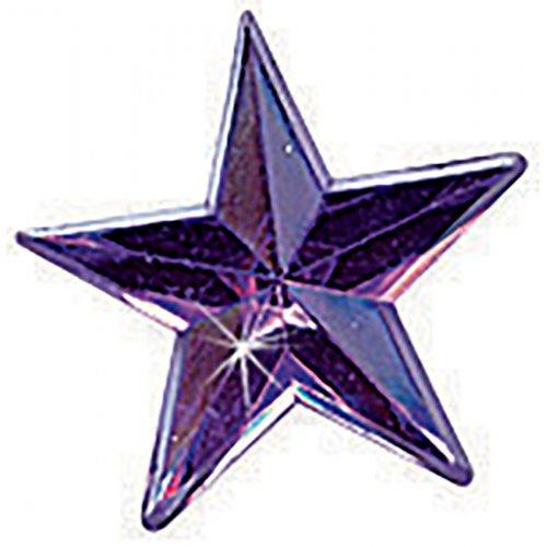 Štrasové kamínky, Hvězda barevná, 150 ks