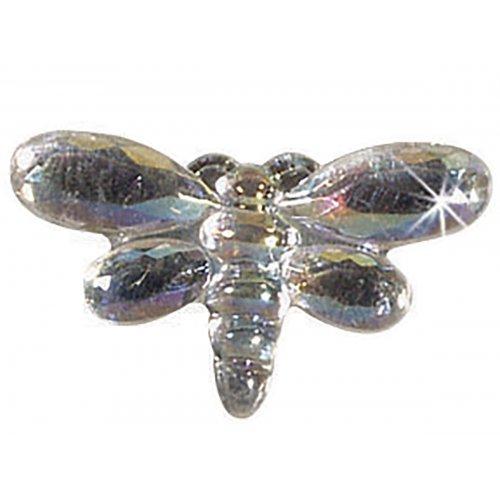 Štrasové kamínky, Motýl barevný, 150 ks