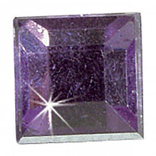 Štrasové kamínky, Čtverec čirý, 150 ks
