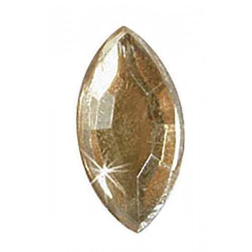 Štrasové kamínky, List čirý, 150 ks