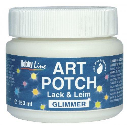 ART POTCH Lak & Lepidlo třpytivé duhově proměnlivé 150 ml