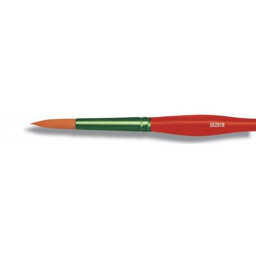 Štětec MUCKI Trigonomic kulatý zelený velikost 10
