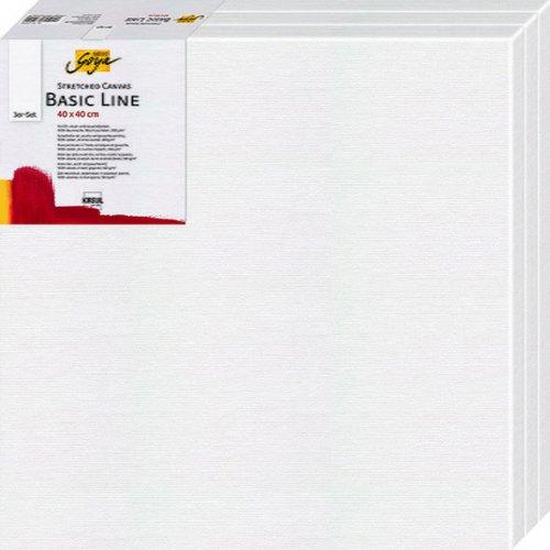 Malířské plátno SOLO GOYA Basic Line 10 x 10 cm 3 ks v balení