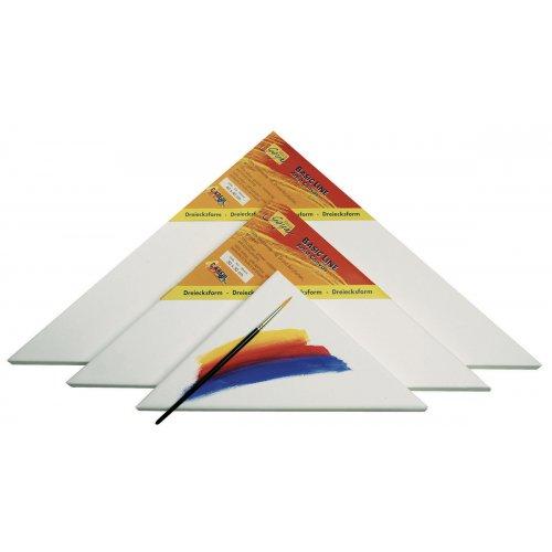 Malířské plátno SOLO GOYA Basic Line 50 x 50 cm trojúhelník