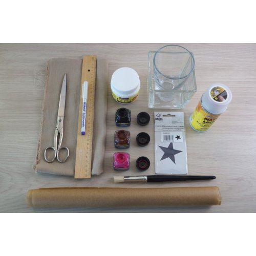 Dekorační tužidlo na textil HOBBY LINE 150 ml - 701_DECO Festiger Materialbild-web.jpg