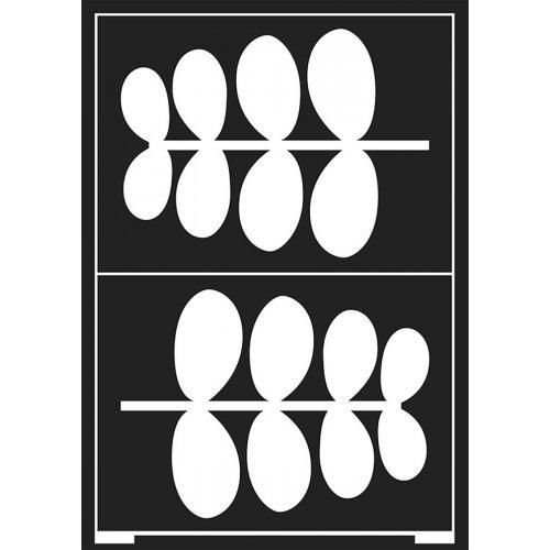 Šablona samolepicí flexibilní, listy, A5