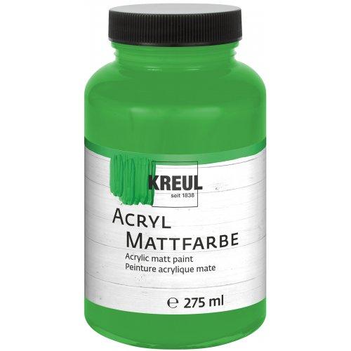 Akrylová barva matná KREUL 275 ml světle zelená