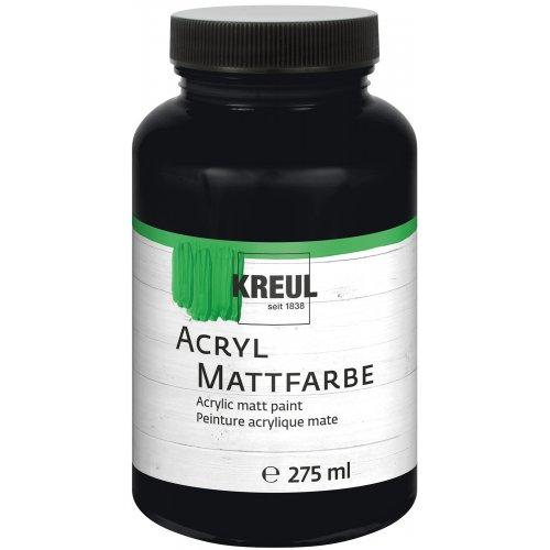 Akrylová barva matná KREUL 275 ml černá