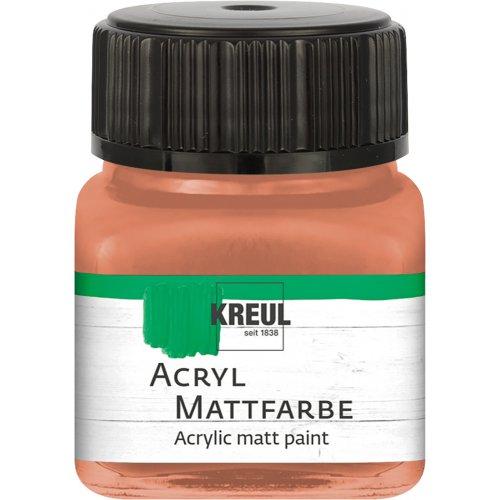 Akrylová barva matná KREUL 20 ml terakota