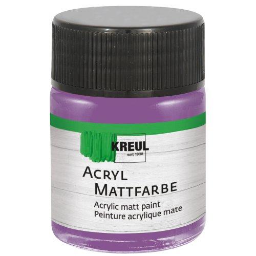 Akrylová barva matná KREUL 50 ml purpurová