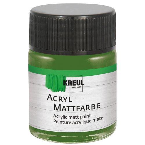 Akrylová barva matná KREUL 50 ml olivová zelená