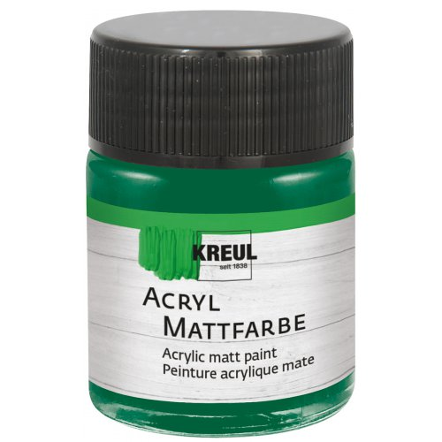 Akrylová barva matná KREUL 50 ml mechová zelená