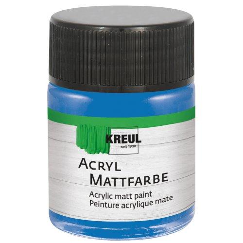 Akrylová barva matná KREUL 50 ml modrá encián