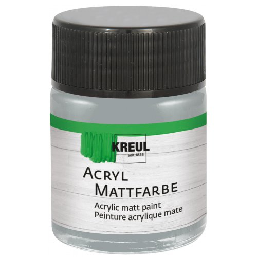 Akrylová barva matná KREUL 50 ml šedá