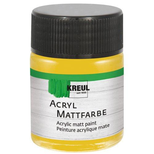Akrylová barva matná KREUL 50 ml zlatá