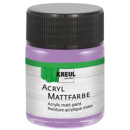 Akrylová barva matná KREUL 50 ml lila