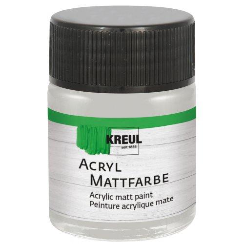 Akrylová barva matná KREUL 50 ml stříbrná