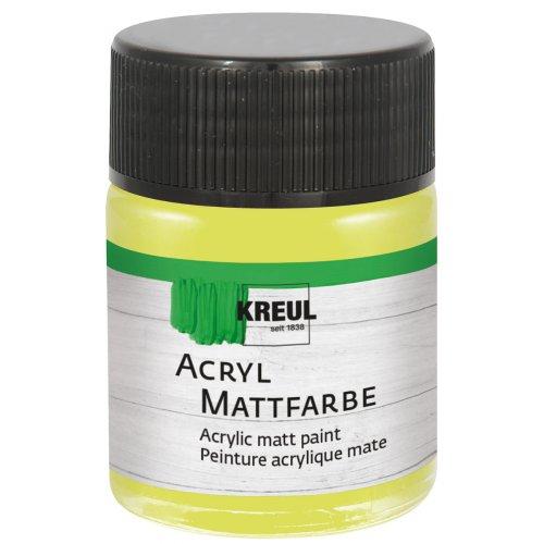 Akrylová barva matná KREUL 50 ml limetka