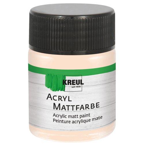 Akrylová barva matná KREUL 50 ml jemně růžová