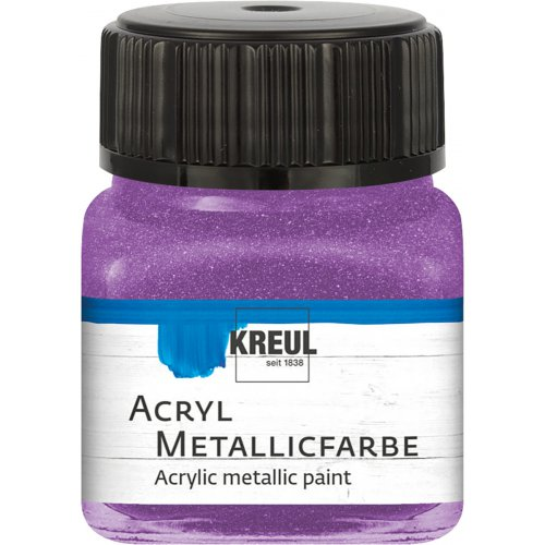 Akrylová barva metalická KREUL 20 ml lila