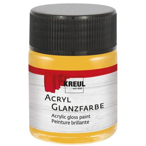 Akrylová barva lesklá KREUL 50 ml zlatá
