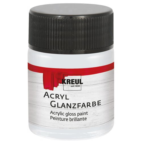 Akrylová barva lesklá KREUL 50 ml světle šedá
