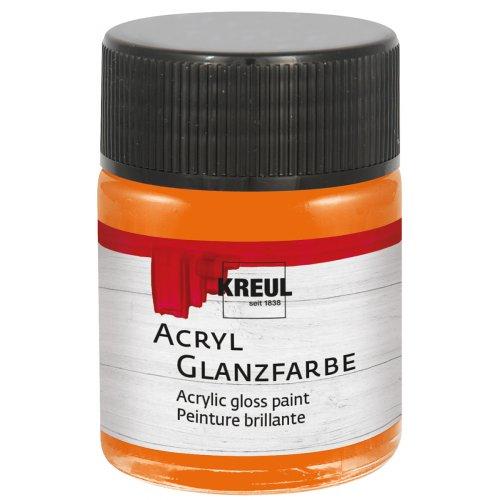 Akrylová barva lesklá KREUL 50 ml oranžová