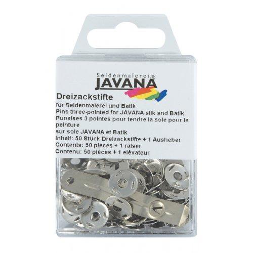 Tříbodové špendlíky JAVANA 50 ks