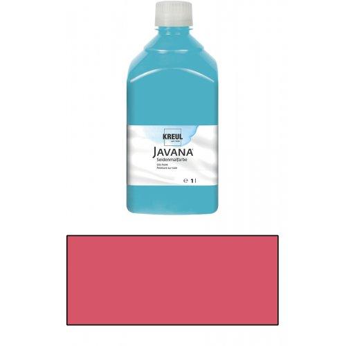 Barva na hedvábí JAVANA 1 l červená