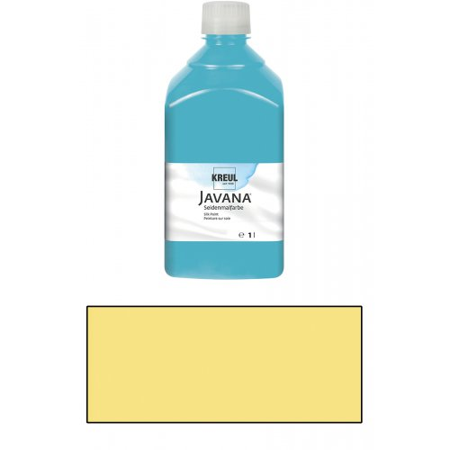 Barva na hedvábí JAVANA 1 l citrónová
