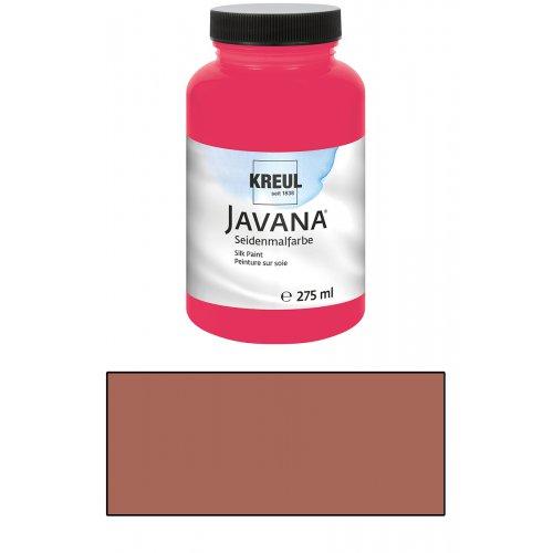 Barva na hedvábí JAVANA 275 ml kaštanová