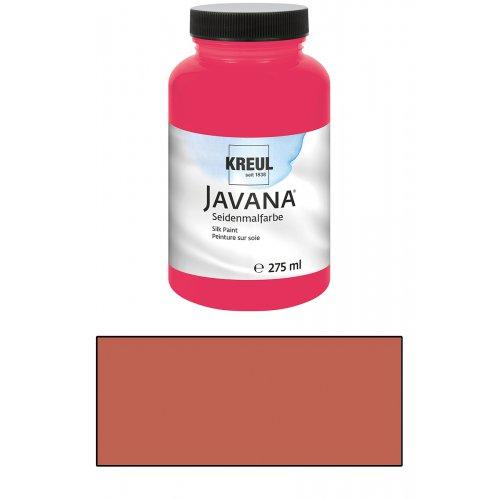 Barva na hedvábí JAVANA 275 ml rezavá