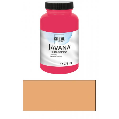 Barva na hedvábí JAVANA 275 ml meruňková