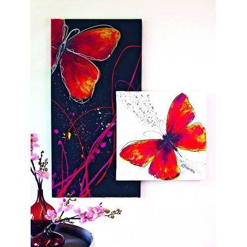 Akrylová barva umělecká SOLO GOYA 100 ml v tubě bílá - 841_SOLO_GOYA_ACRYLIC_Schmetterling_Rot.jpg