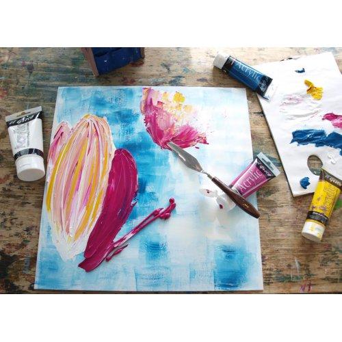 Akrylová barva umělecká SOLO GOYA 100 ml v tubě bílá - 841_283_SOLO_GOYA_ACRYLIC_Step_2.jpg