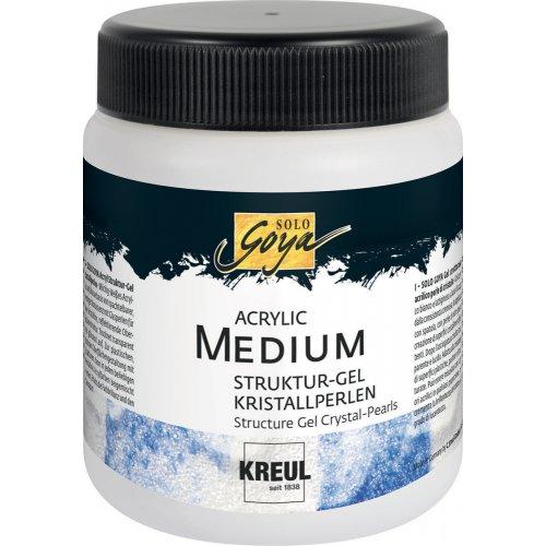 Strukturovací gel SOLO GOYA 250 ml krystalky
