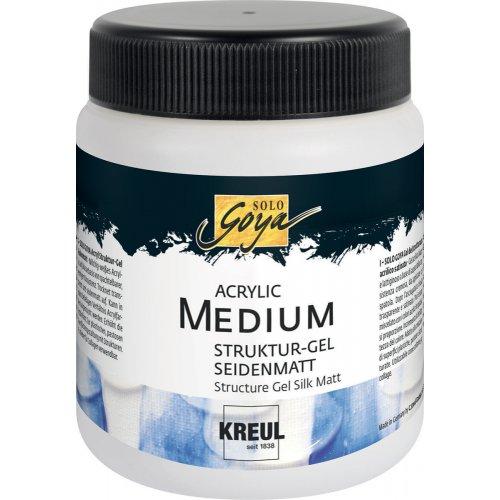 Strukturovací gel SOLO GOYA 250 ml matný