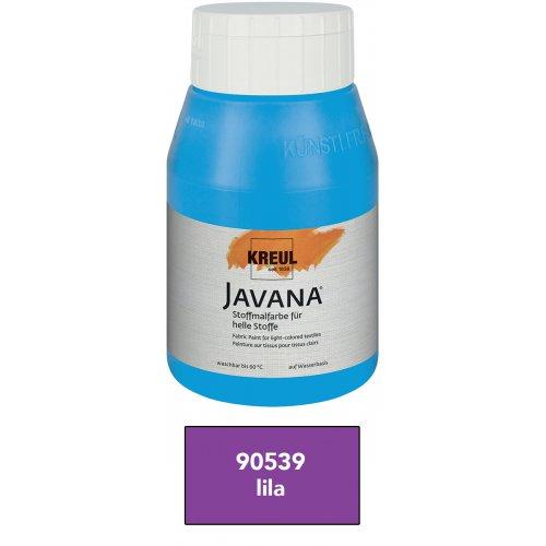 Barva na světlý textil JAVANA 500 ml lila