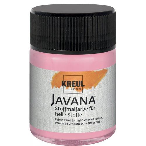 Barva na světlý textil JAVANA 50 ml fluorescenční růžová