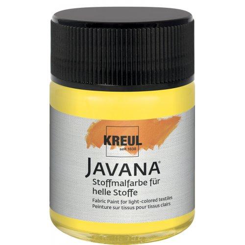 Barva na světlý textil JAVANA 50 ml fluorescenční žlutá